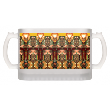 Beer Mug - Frosted Glass